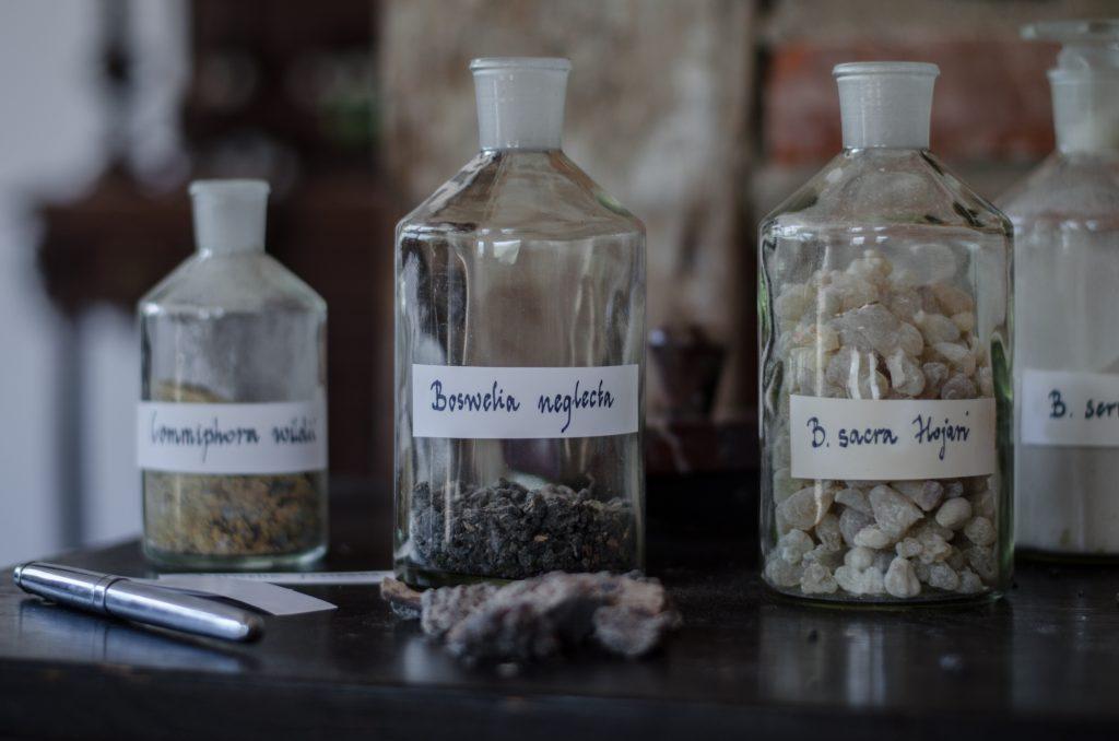 Olejek kadzidłowy z grudek żywicy Hojari to olejek o najpiękniejszym zapachu