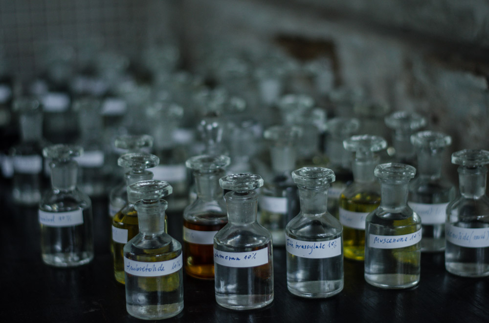 buteleczki z piżmem