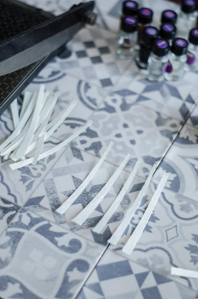 Blottery wycinane z papieru do akwarelek