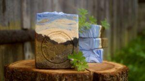 kolorowe kostki ziołowego mydła Kasi z InoZiele